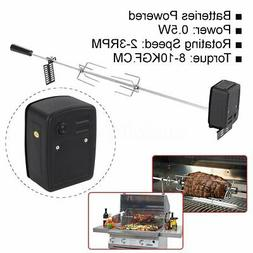 0.5W Stainless Steel Rotisserie BBQ Grill Roaster Spit Rod C
