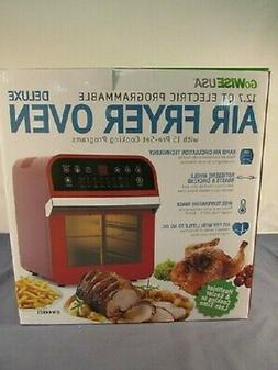 GoWISE USA 12.7 Qt. Electric Air Fryer Oven Rotisserie with