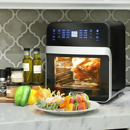 16-in-1 Electric Air Fryer Oven 13 QT 1600W XL w/ Rotisserie