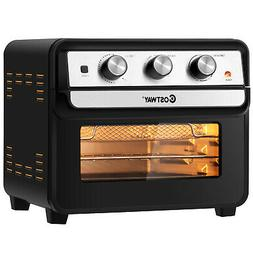 23 QT Air Fryer Oven 6-in-1 Multi-Use Toaster Oven Dehydrato