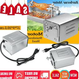 50-70KGF Stainless Steel BBQ Rotisserie Motor 110V Electric