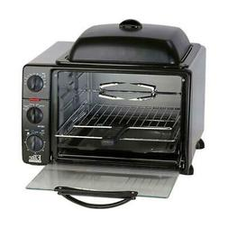 Elite Cuisine ERO-2008SC Countertop XL Toaster Oven with Top
