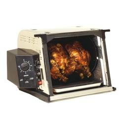 Ronco ST3001SSGEN Showtime Compact Rotisserie and Barbeque O