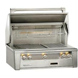 Alfresco ALXE 36-Inch Built-In Natural Gas Grill With Rotiss