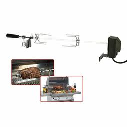 Bbq Grill Rotisserie Automatic Electric Motor Outdoor Spit R