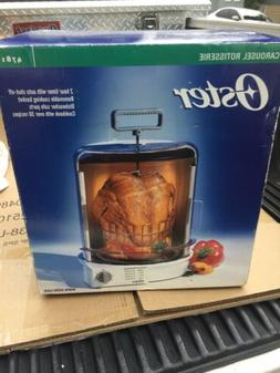 carousel rotisserie cooker with auto shut off