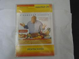CD-ROM: GEORGE FOREMAN INTERACTIVE GUIDE TO GRILLING-BBQ-ROT