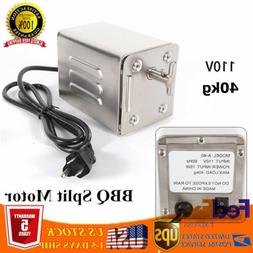 Electric BBQ Spit Motor Stainless Steel Rotisserie Roaster M