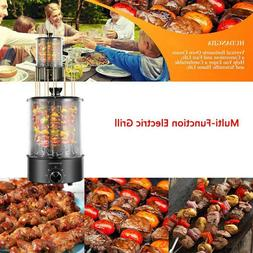 Electric Grill Smokeless Rotating Vertical Rotisserie Oven B