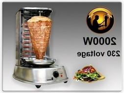 Electric Multifunctional Vertical Rotisserie Grill Oven devi