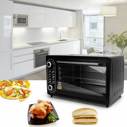 "Electric Toaster Oven Large 21"" Pizza Capacity Stainless Ste"