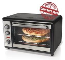EXTRA LARGE Hamilton Beach Convection Oven Rotisserie Bake B