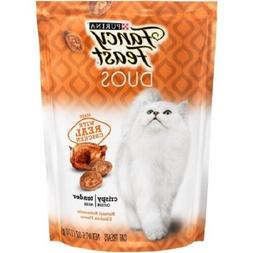 Purina Fancy Feast Duos Made With Real Chicken Crisp Outside