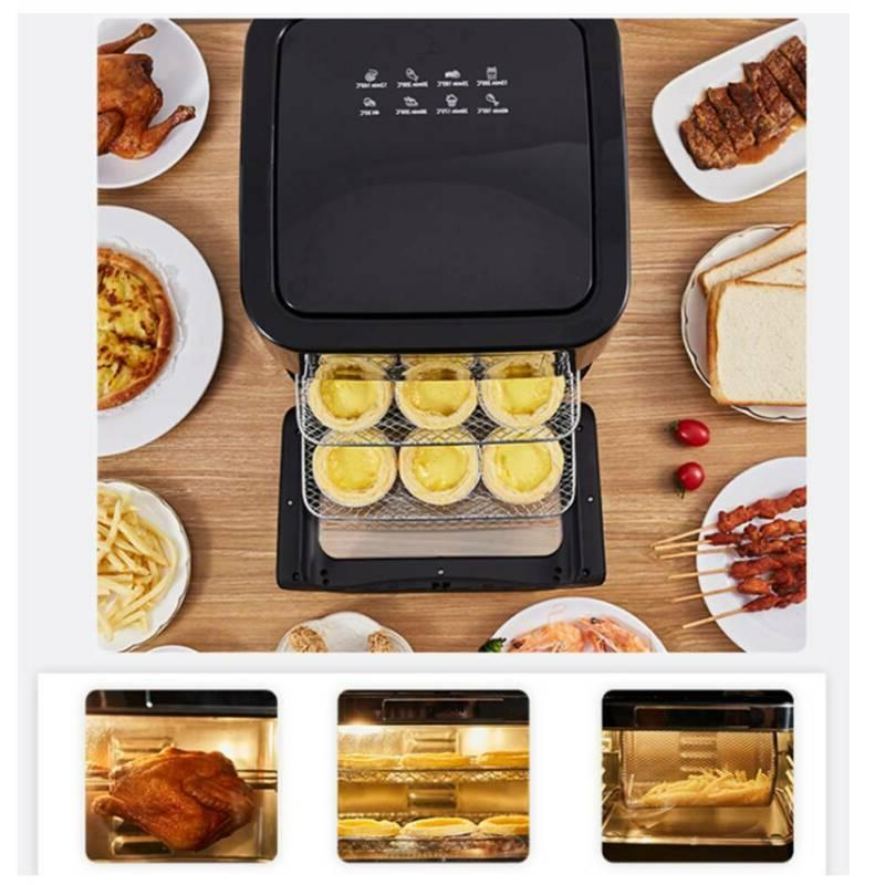 14 Qt Digital Fryer Oven with Dehydrator, Convection