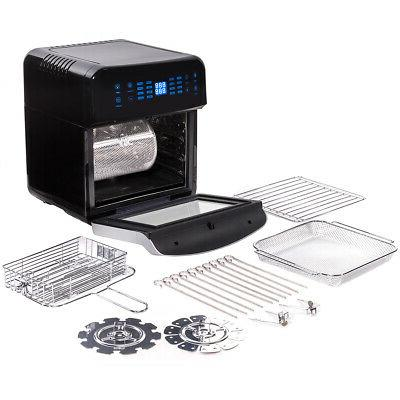 16 in 1 electric air fryer oven
