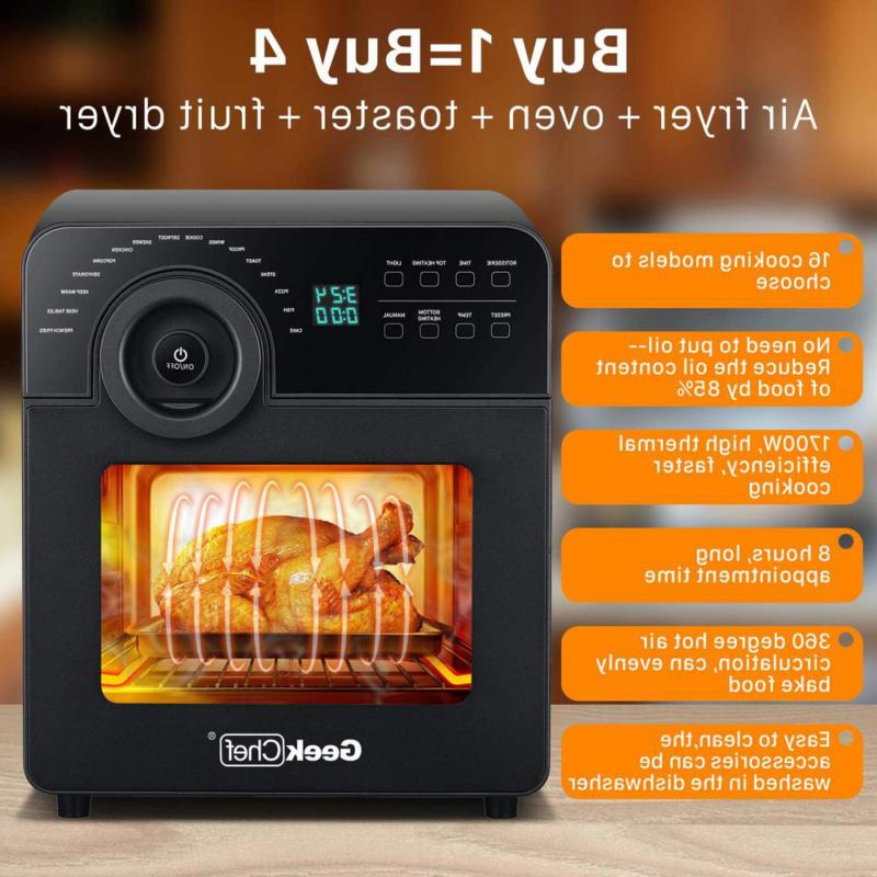 1700W Air Fryer With
