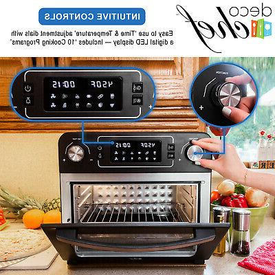 Deco Chef Air Fryer Rotisserie Included
