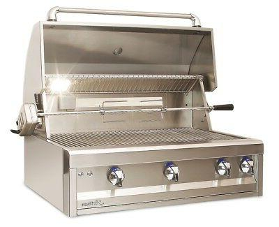Artisan Inch Gas w/Lights and Rotisserie