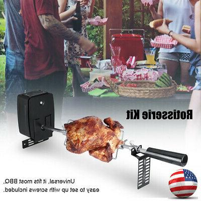bbq motor barbecue electric rotisserie motor stainless