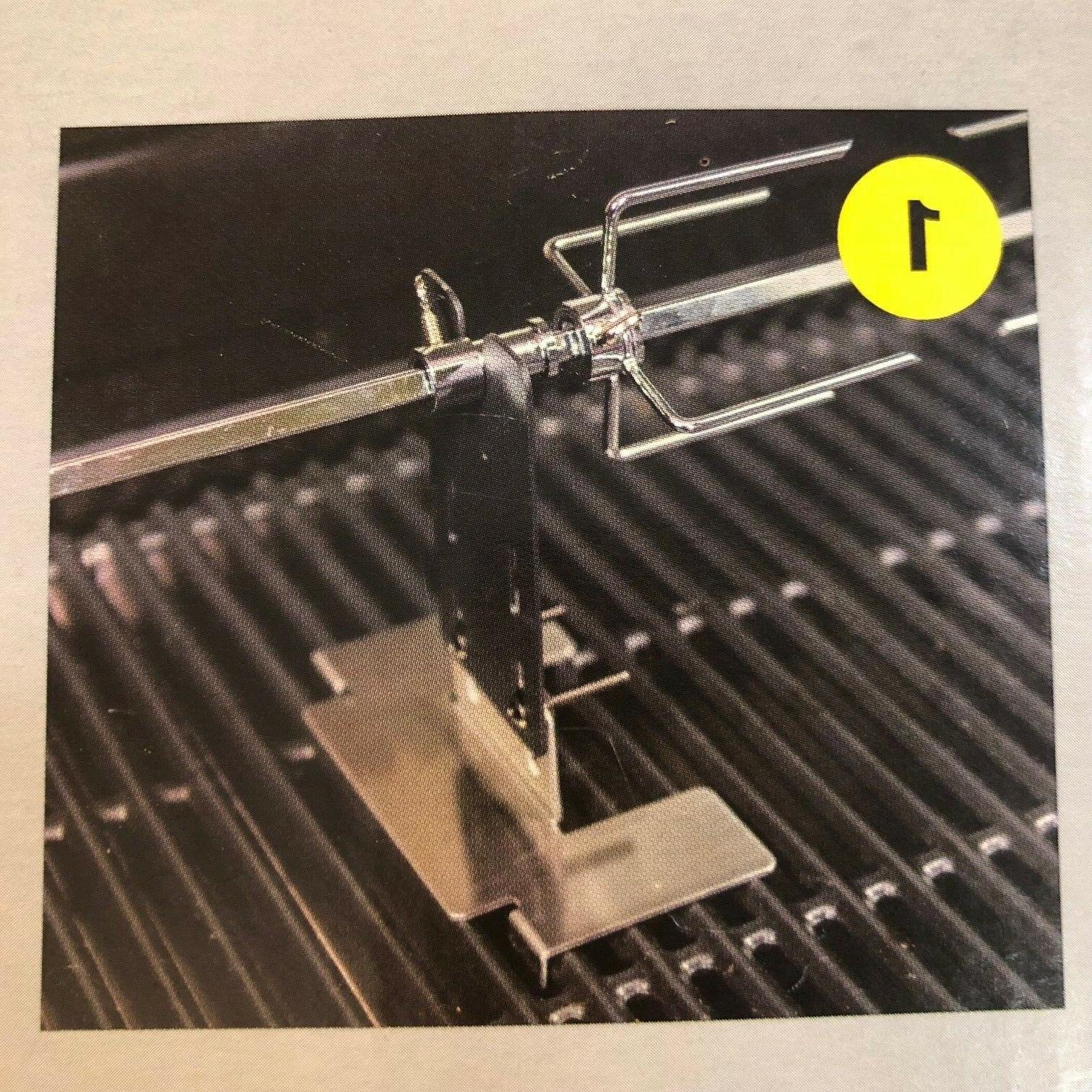 Char-Broil Rotisserie UNIVERSAL FIT MOUNTING