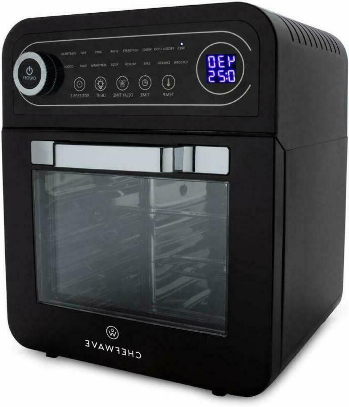 chefwave 12 6 quart air fryer oven