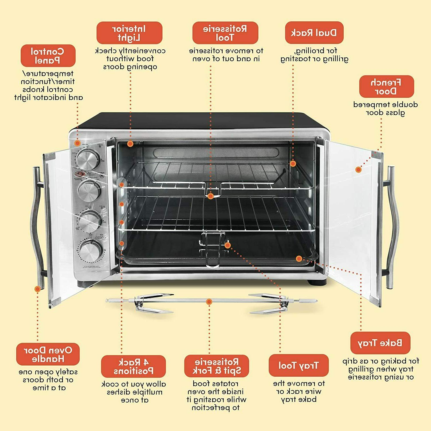 TOASTER OVEN NEW
