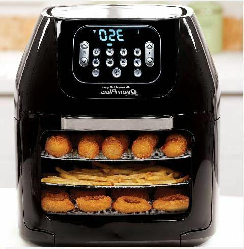 Power Air Fryer Oven All-In-One 6 Dehydrator Rotisserie 6QT New