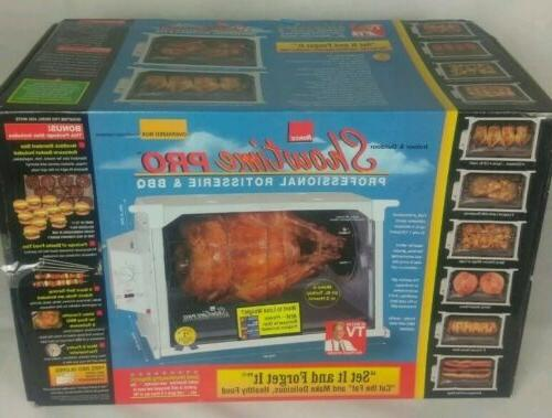 pro 6000 professional rotisserie and bbq new