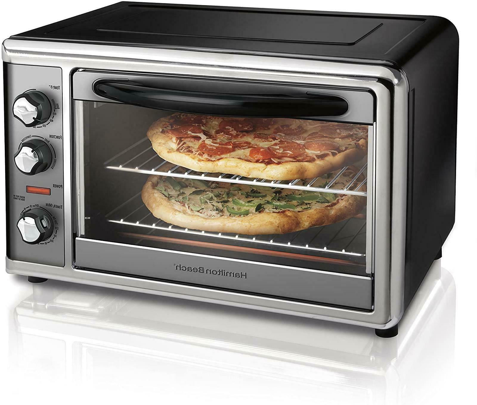 Rotisserie Convection Toaster Oven Countertop  Large Home Ki