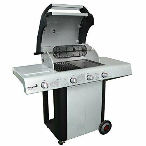 Rotisserie Grill French Basket Gas Ceramic