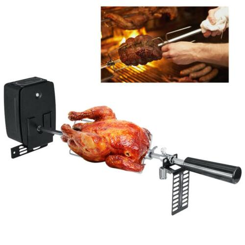 Outdoor Rotisserie Kit Accessories Battery Type
