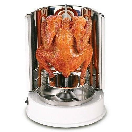 vertical rotisserie oven electric grill countertop oven