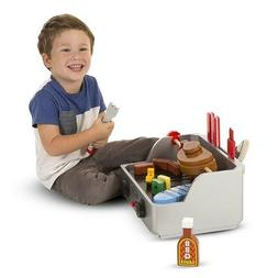 Melissa And Doug Rotisserie And Grill Wooden Barbecue Play F