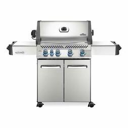Napoleon Prestige 500 Grill On Cart with Infrared Rotisserie