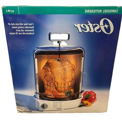 New Oster Carousel Rotisserie Poultry Beef Pork Lamb