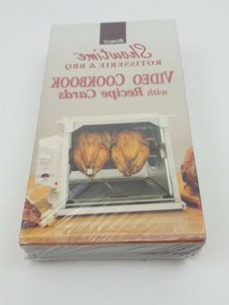 New Ronco Showtime Rotisserie & BBQ Video Cookbook with Reci