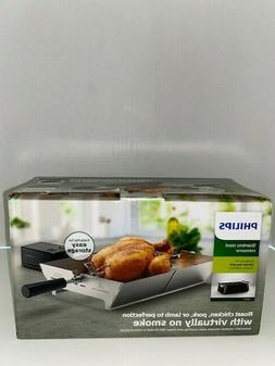 Phillips Collection Stainless Steel Rotisserie Accessory