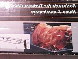 ROTISSERIE ATTACHMENT FOR GRILLS   REDUCED PRICE