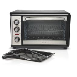 Rotisserie Convection Toaster Oven Countertop By Hamilton Be
