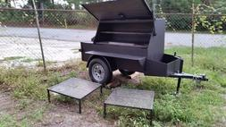 Rotisserie Pro BBQ Business Smoker Grill Food Truck Catering