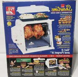 Ronco Showtime 4000 Full Size Rotisserie & BBQ Oven White w/