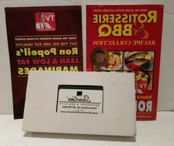 Showtime Rotisserie & BBQ Recipe Collection + VHS instructio