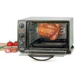 Toaster Oven 6 Slice Rotisserie Pizza Electric Cooker Kitche