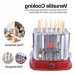 Vertical Counter Top Electric Kebab Rotating Rotisserie Oven