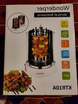 vertical rotisserie oven electric grill home mini